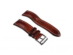 Lot #6484 – Breitling 20mm Tang Buckle with 22mm Leather Watch Strap Breitling [tag]