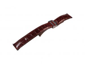 Lot #6497 – Dunhill 18mm Alligator Strap With Dunhill Deployant Watch Buckle Watch Bracelets [tag]