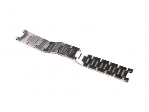 Lot #6498 – Cartier Pasha C 18mm Watch Bracelet Band Stainless Steel Cartier [tag]