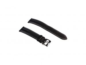 Lot #6501 – Omega 18mm Double Ridge Leather Watch Strap With 16mm Omega Tang Bucklet Omega [tag]