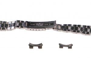 Lot #6503 – Rolex 7834 Crimped Oyster Bracelet With 266 End Pieces 13mm Ladies Watch Bracelets [tag]