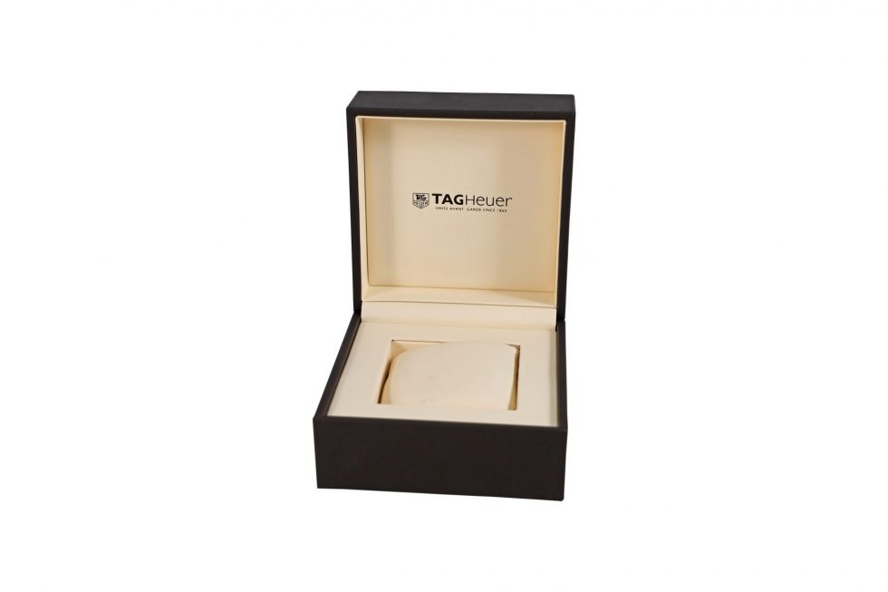 Lot #6855 – Tag Heuer Watch Box With Instruction Booklet Watch Parts & Boxes [tag]