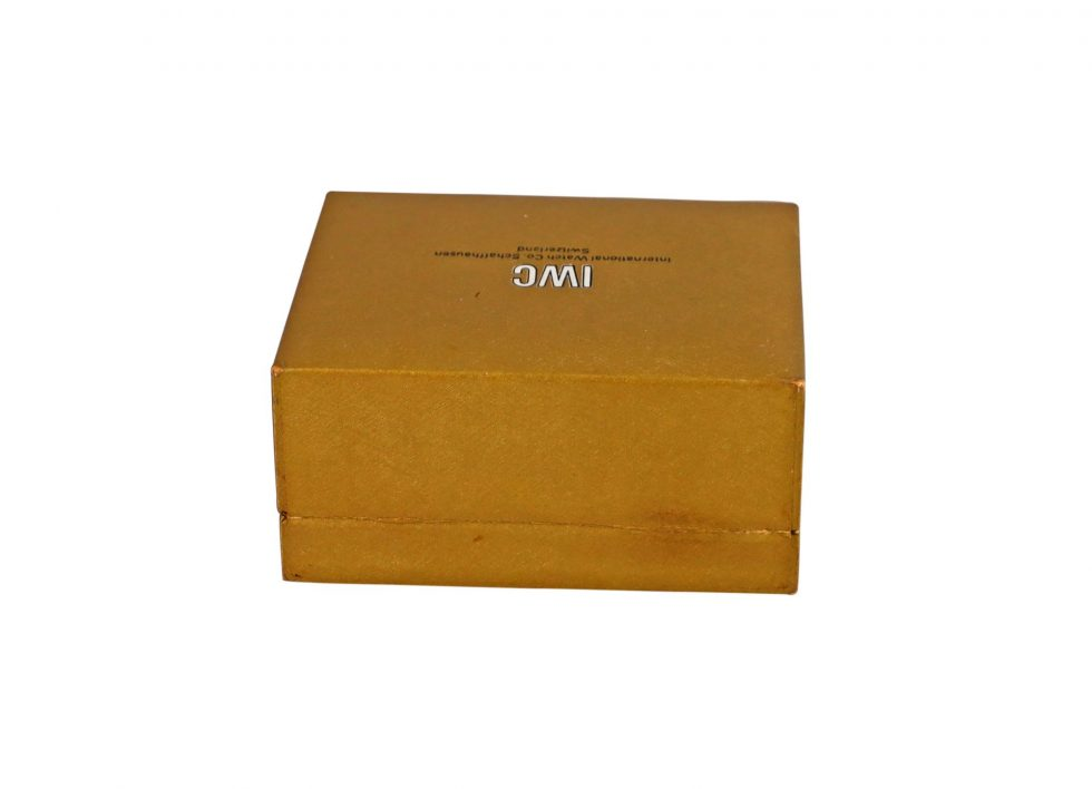 Lot #6857 – IWC Cuff Watch Box Rare Vintage Watch Parts & Boxes [tag]