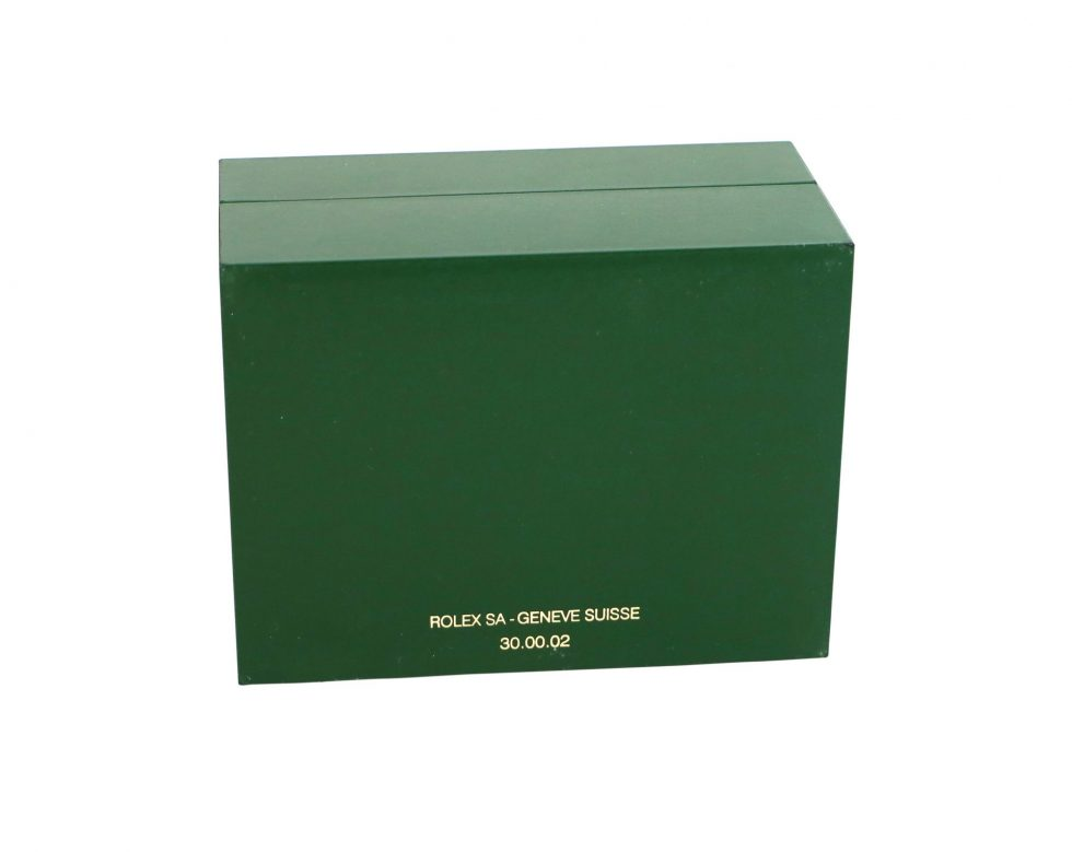 Rolex Green Watch Box- Baer & Bosch Watch Auctions