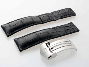Lot #9031 – Tag Heuer FC5014 Leather Watch Strap 22MM FC5014 Tag Heuer