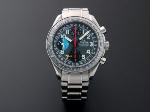Lot #7654 – Omega Speedmaster Triple Calendar Mark 40 AM/PM Watch 3520.53 3520.53 Omega 3520.53.00