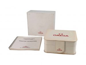 Lot #9118 – Omega Missions Watch Box With Operating Instructions Manual Omega [tag]