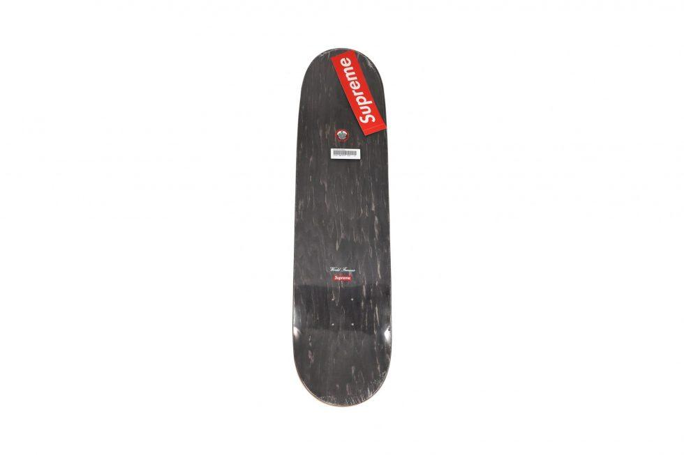 Lot #8479A – Supreme Balloons Black Skateboard Skate Deck Skateboard Decks [tag]
