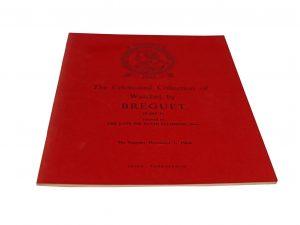 Lot #11086 – Breguet Catalog Part I Sir David Salomons Collection Rare Christie's Breguet Breguet Book
