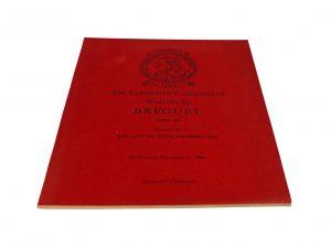 Lot #11087 – Breguet Christie's Catalog III Sir David Lionel Salomons Collection Rare Breguet Breguet Book