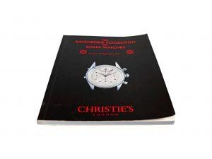 Lot #11400 – Rolex Christie's Catalog Ravenborg Collection Rare Collector's Bookshelf [tag]