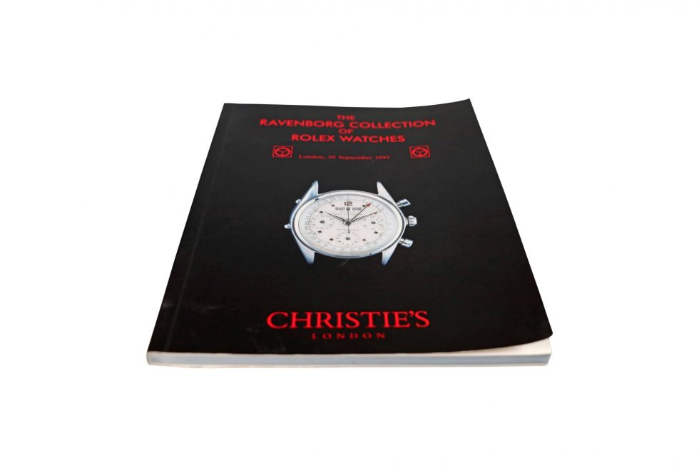 Lot #10072 – Rolex Christie's Catalog Ravenborg Collection Rare Collector's Bookshelf [tag]