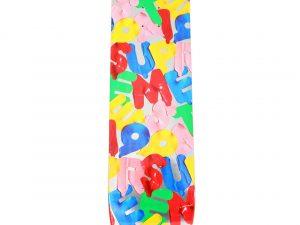 Lot #9840 – Supreme Balloons Silver Skateboard Skate Deck Skateboard Decks [tag]