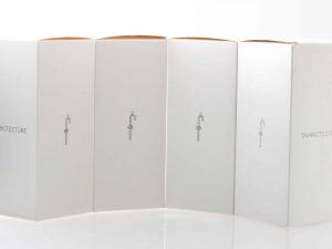 Lot #11177 – Daniel Arsham Snarkitecture Candy Cane Set of 4 Seletti White Art Toys Daniel Arsham