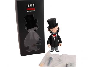Lot #9164 – Monopoly Mr. Penny Bags x Bait Vinyl Figure Art Toys [tag]