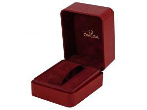 Lot #9179 – Omega Vintage Cuff Watch Box Omega Watch Box
