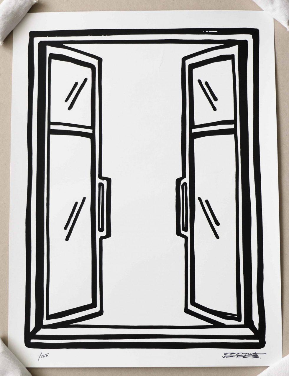 Lot #9545 – Joshua Vides New View Window Print Limited Edition Art Joshua Vides