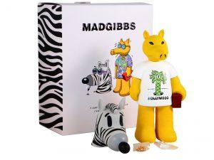 Lot #9413 – Steven Harrington x Madgibbs Quasimoto Hollywood Sculpture Art Toys [tag]