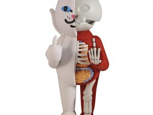 Lot #8573 – Ripndip Lord Nermal Anatomy Vinyl 14in Figure Limited Edition Art Toys [tag]