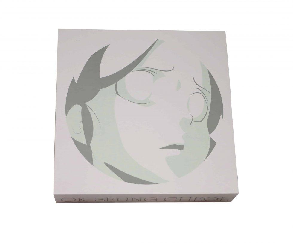 Lot #8615 – Seungcheol Ok AOKIZY Plaster Relief Sculpture Limited Edition Art Ok Seung-cheol
