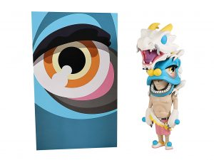 Lot #8651 – Coarse Toys Jaws and Aura Halcyon Set Art Toys Coarse Life