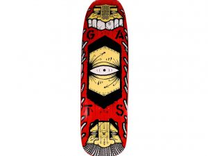 Lot #9842 – GATS Cruiser Red Skateboard Skate Deck GATS GATS Cruiser Skateboard