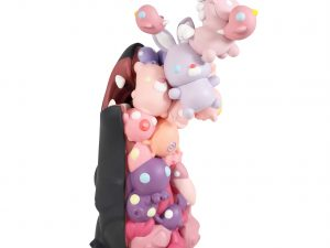 Lot #10539 – Coarse Toys Cells Anatomy Vinyl Sculpture 10.5in Limited Edition Art Toys Coarse Life