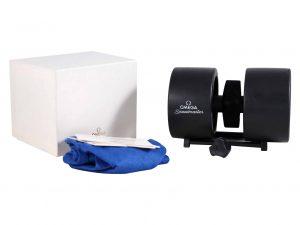 Lot #11009 – Omega Speedmaster Blue Schumacher Tire Watch Box With Dust Bag Omega [tag]