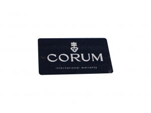 Lot #6567 – Corum International Watch Warranty Card Open Accessories [tag]