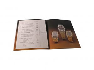 Lot #6585 – Vintage Audemars Piguet Watch Brochure With 1979 Price List Audemars Piguet [tag]