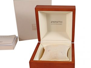 Lot #6599 – Zenith Presentation Watch Box And Books Watch Parts & Boxes [tag]