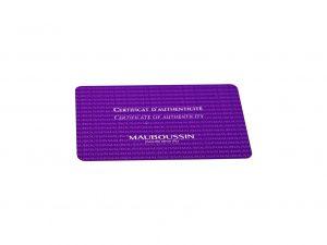 Lot #6613 – Mauboussin Watch Warranty Card Accessories [tag]