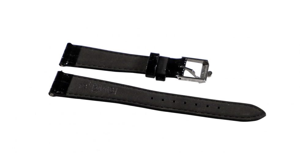 Omega 14mm Tang Buckle With 18mm Generic Leather Strap – Baer & Bosch Watch Auctions