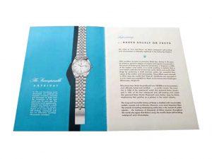Lot #8919 – Rolex Blueprint Of Supremacy Booklet Circa 1950 Ephemera Ephemera