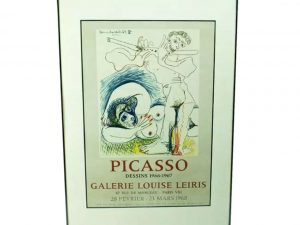 Lot #9059 – Pablo Picasso Dessins 1966 – 1967 Galerie Louise Leiris Art Art