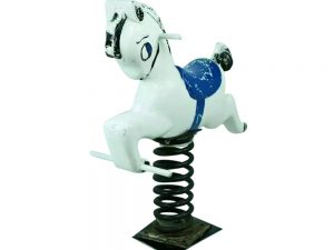 Lot #9063 – Horse Spring Rider Bouncy Playground Equipment Spring Rider Playground Equipment