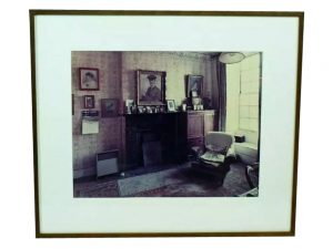 Lot #9088 – Andrew Bush C-Print Color Photograph Lawrence's Room Art Andrew Bush