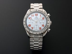 Lot #10862 – Omega Speedmaster Mother of Pearl Chronograph Watch 3534.78 3534.78 [tag]