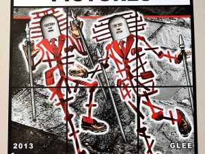 Lot #9515 – Gilbert & George Signed Scapegoating Pictures Glee Poster Art Gilbert & George