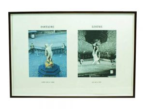 Lot #9527 – Jan Vercruysse Lithograph Fontaine Lustre Limited Edition Art Art