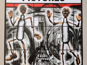 Lot #9537 – Gilbert & George Signed Scapegoating Pictures Body Poppers Poster Art Gilbert & George