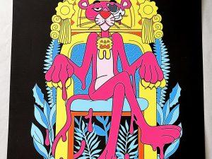 Lot #9542 – Matt Gondek The Best Revenge Pink Print Limited Edition Art Matt Gondek