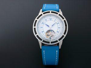 Lot #10488 – Pierre Gaston Automatic Tourbillon Watch Sector Dial Pierre Gaston Pierre Gaston