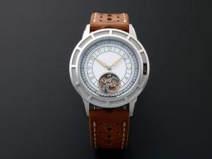 Lot #10511 – Pierre Gaston Automatic Tourbillon Watch Degrade Dial Pierre Gaston Pierre Gaston
