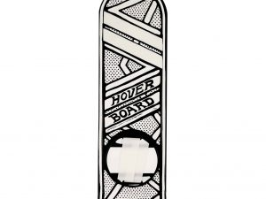 Lot #11276 – Joshua Vides Back To The Future Hoverboard Deck Sculpture Joshua Vides Joshua Vides