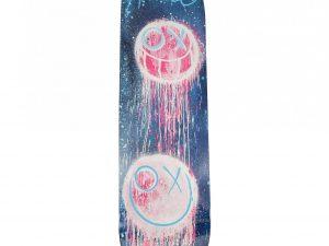 Lot #11045 – Andre Saraiva Blue Drip Skateboard Deck Edition of 50 Andre Saraiva Andre Saraiva