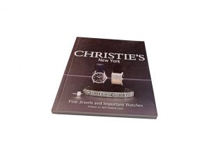 Lot #10075 – Christie's Fine Jewels and Important Watches New York September 27, 2002 Auction Catalog Collector's Bookshelf [tag]