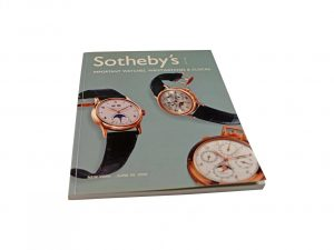 Lot #10269A – Sotheby's Important Watches, Wristwatches And Clock New York June 20, 2002 Auction Catalog Collector's Bookshelf [tag]