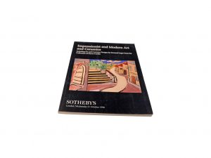 Lot #10269B – Sotheby's Impressionist And Modern Art New York May 6, 2003 Auction Catalog Collector's Bookshelf [tag]