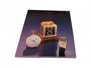 Lot #10269C – Sotheby's Important Watches, wristwatches And Clock Landon Auction Catalog Collector's Bookshelf [tag]